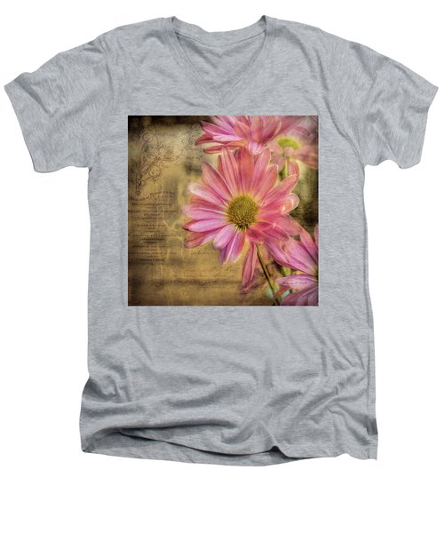 Men's V-Neck T-Shirt featuring the photograph Small Perfections by Bellesouth Studio