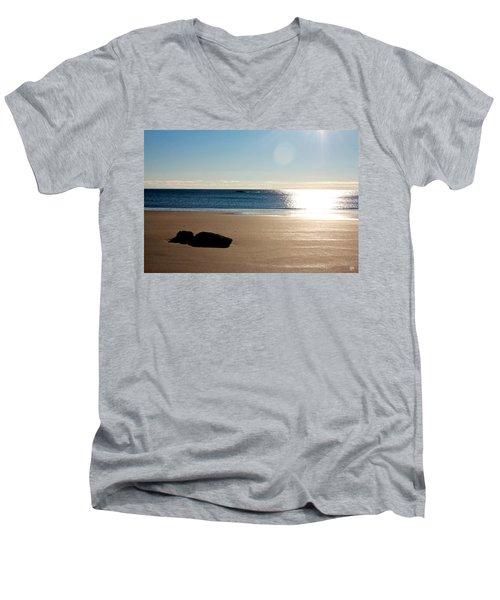 Small Point Men's V-Neck T-Shirt