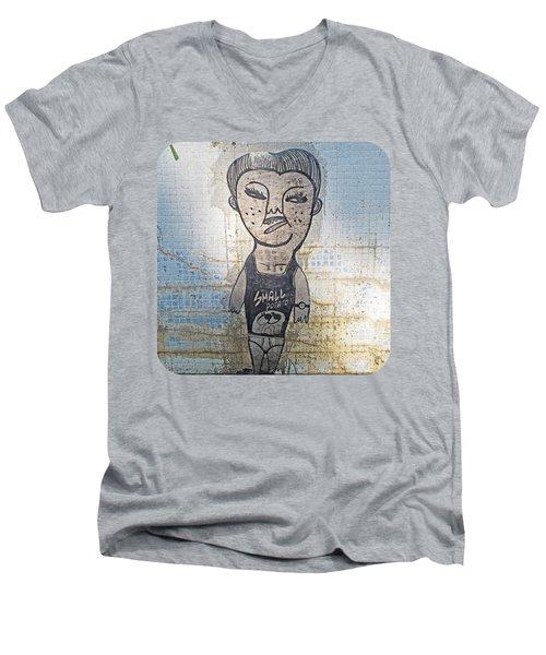 Small Potato Men's V-Neck T-Shirt