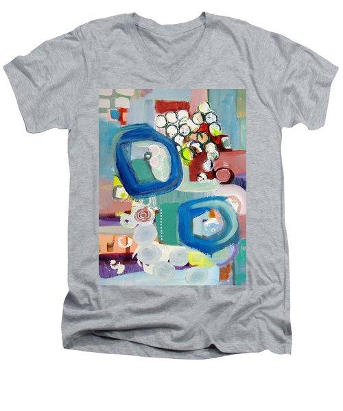 Small Talk Men's V-Neck T-Shirt
