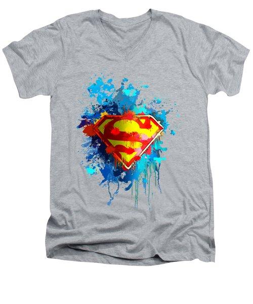 Smallville Men's V-Neck T-Shirt