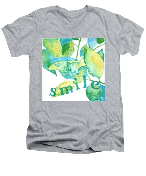 Smile Men's V-Neck T-Shirt