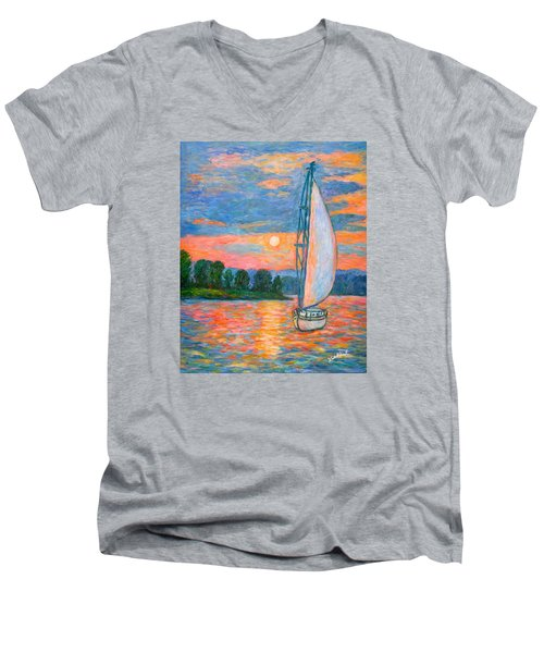 Smith Mountain Lake Men's V-Neck T-Shirt