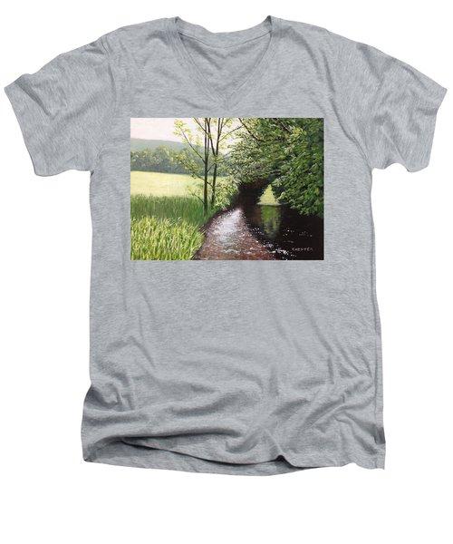 Smith Stream Men's V-Neck T-Shirt
