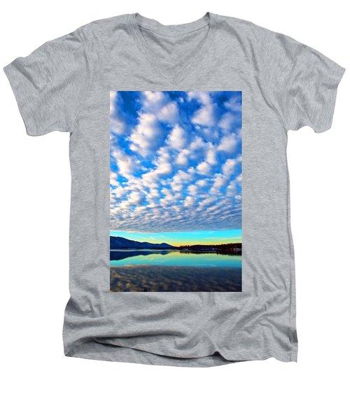 Sml Sunrise Men's V-Neck T-Shirt
