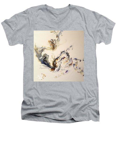 Smoke Men's V-Neck T-Shirt