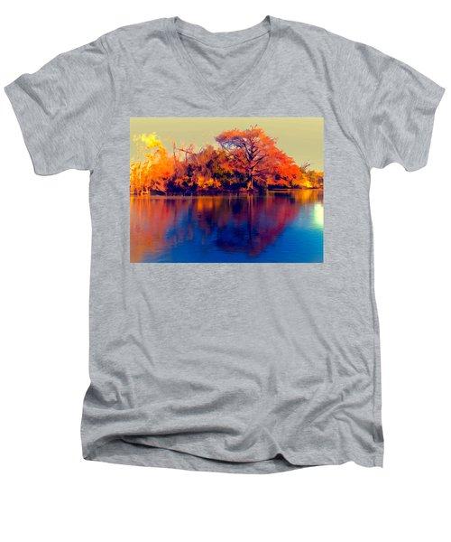 Smoke Signals Men's V-Neck T-Shirt