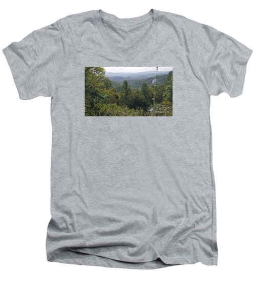 Smokey Mountain Sentinel Men's V-Neck T-Shirt