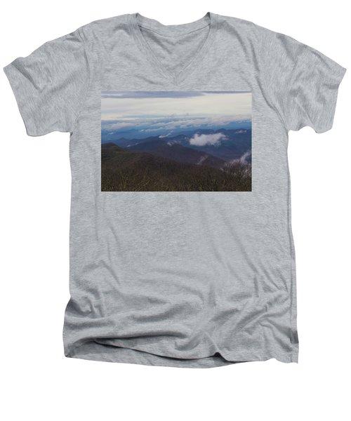 Smokey Mountains 5 Men's V-Neck T-Shirt