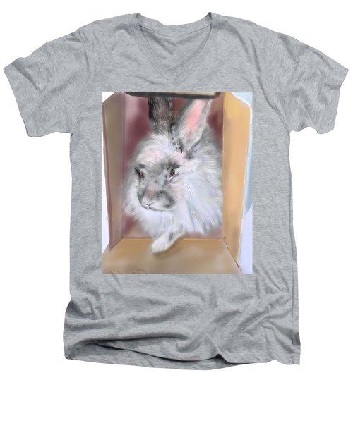 Smokeyblue Men's V-Neck T-Shirt