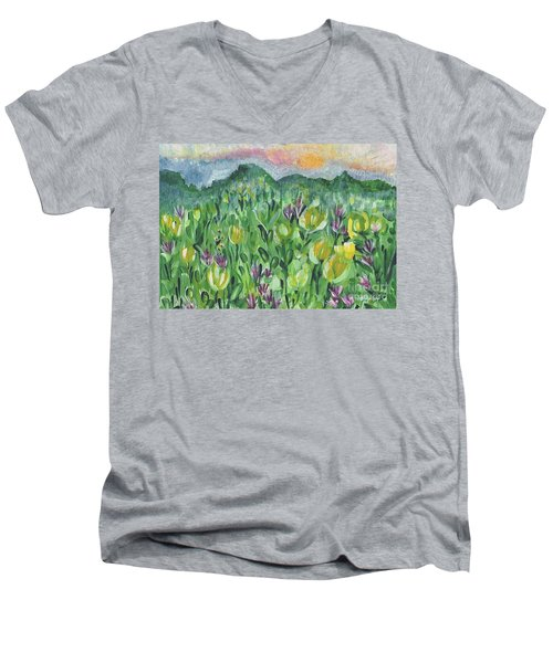 Smoky Mountain Dreamin Men's V-Neck T-Shirt