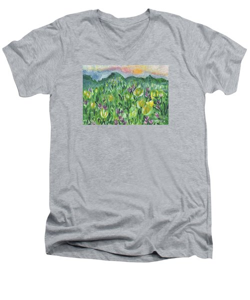 Smoky Mountain Dreamin Men's V-Neck T-Shirt