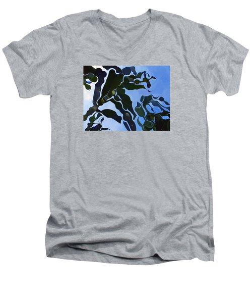 Smooth Bamboos Men's V-Neck T-Shirt by Tina M Wenger