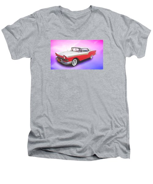 Smooth Rider Men's V-Neck T-Shirt