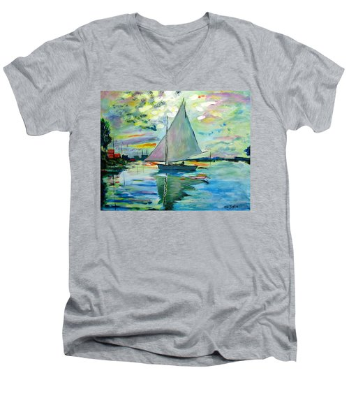 Smooth Sailing Men's V-Neck T-Shirt