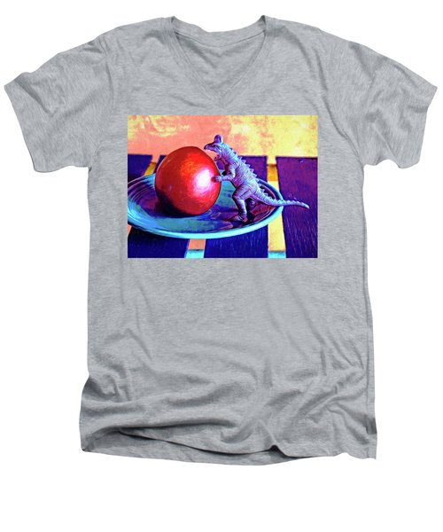 Snack Attack Men's V-Neck T-Shirt