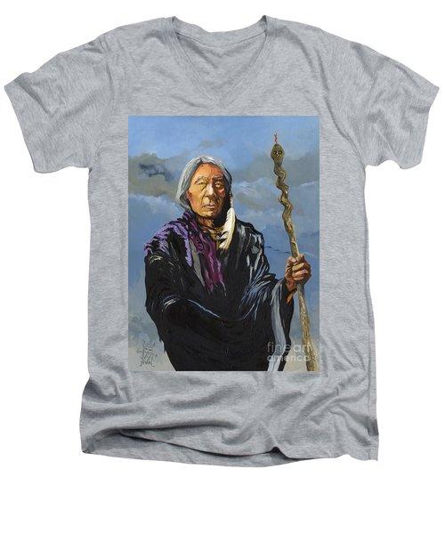 Snake Medicine Men's V-Neck T-Shirt