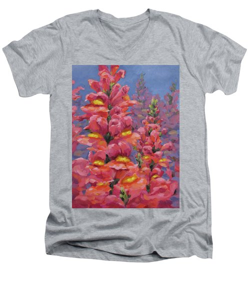 Snapdragons Men's V-Neck T-Shirt