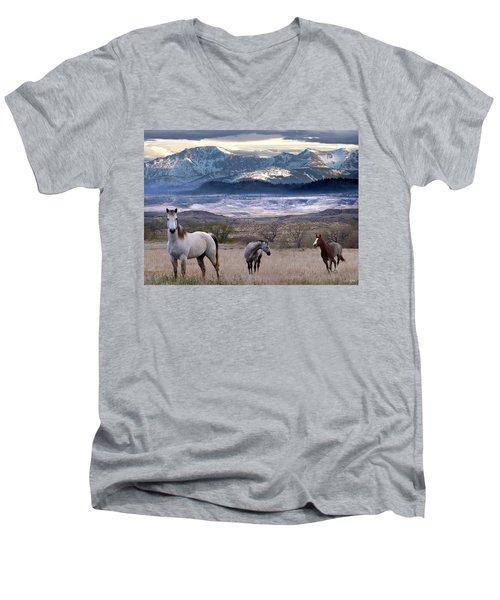 Snapshot Men's V-Neck T-Shirt