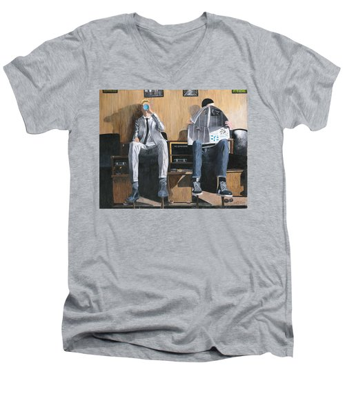 Sneakers Need Polishing Too Men's V-Neck T-Shirt
