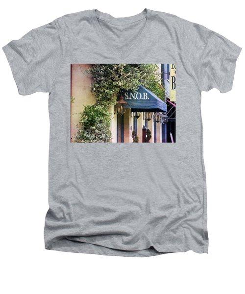 Snob Men's V-Neck T-Shirt