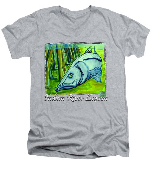 Snook Fish Men's V-Neck T-Shirt