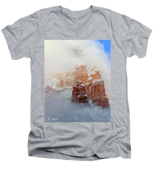 Snow 07-102 Men's V-Neck T-Shirt