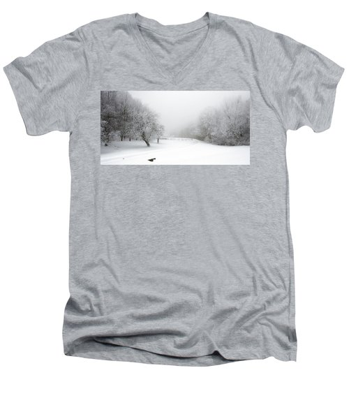 Snow Bound 2014 Men's V-Neck T-Shirt