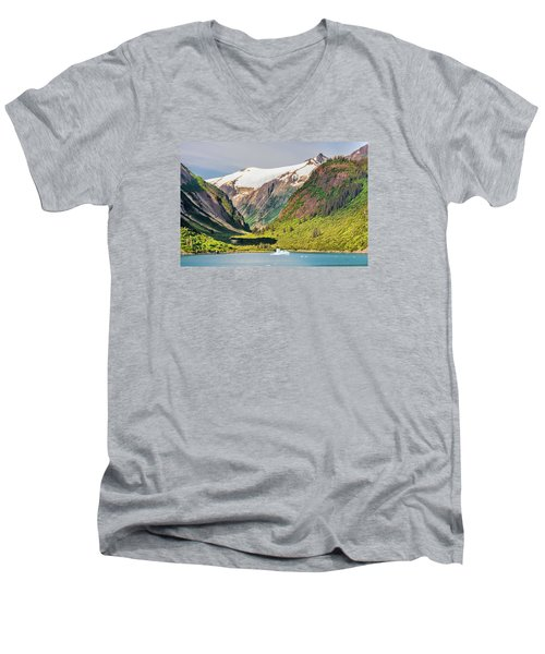 Snow Capped Men's V-Neck T-Shirt