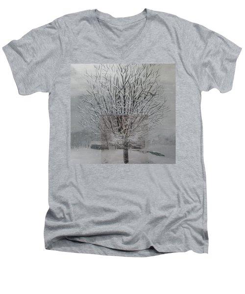 Snow Day Men's V-Neck T-Shirt