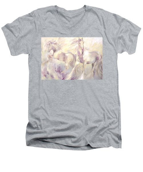Snow Gypsies Men's V-Neck T-Shirt