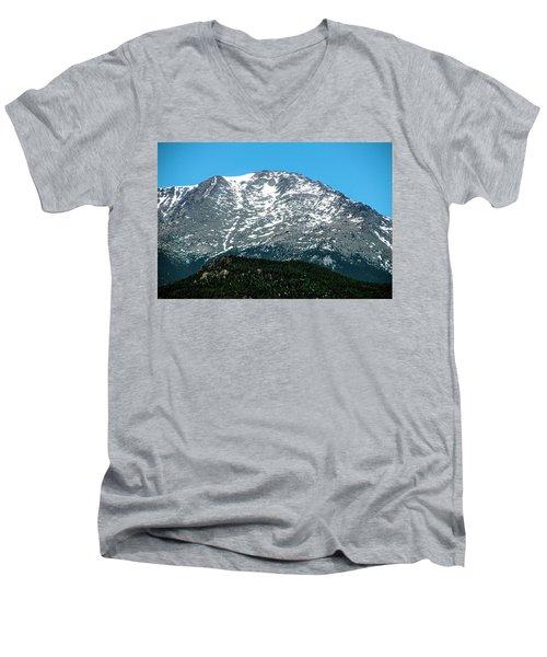 Snow In July Men's V-Neck T-Shirt