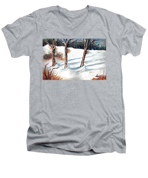 Snow Orchard Men's V-Neck T-Shirt