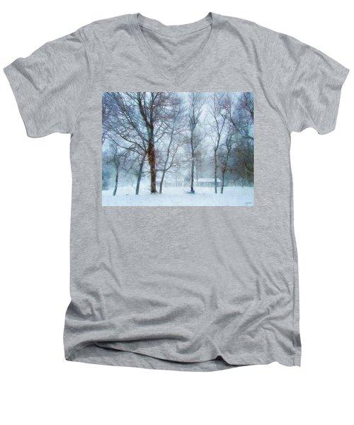 Snow Place Like Home Men's V-Neck T-Shirt