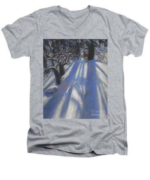Snow Shadows Men's V-Neck T-Shirt