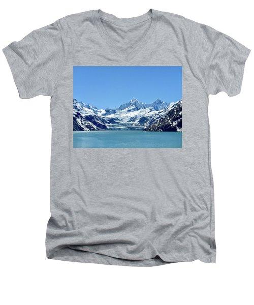 Snow Slide Men's V-Neck T-Shirt