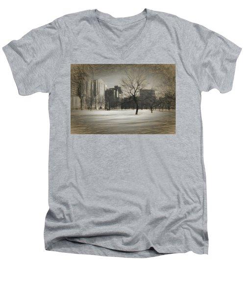 Snow Tree Men's V-Neck T-Shirt