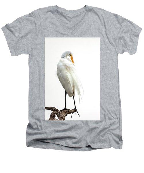 Snow White Men's V-Neck T-Shirt