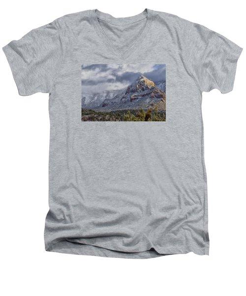 Snowbreak Men's V-Neck T-Shirt by Tom Kelly