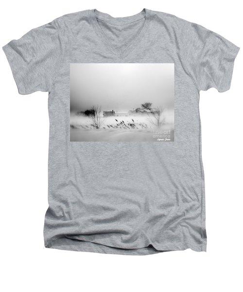Snowed - In Men's V-Neck T-Shirt