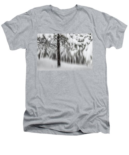 Snowy-2 Men's V-Neck T-Shirt