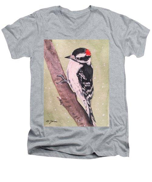 Snowy Downy Men's V-Neck T-Shirt