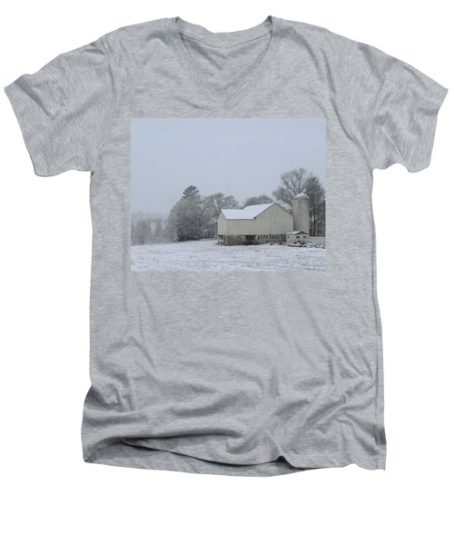 Winter White Farm Men's V-Neck T-Shirt