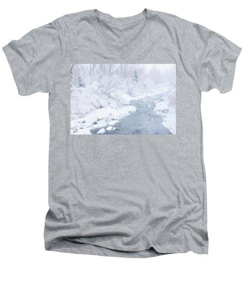 Snowy River Men's V-Neck T-Shirt