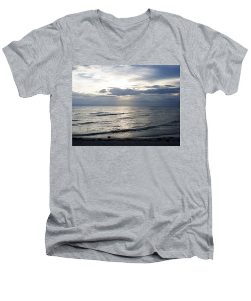 So Long Sanibel Men's V-Neck T-Shirt