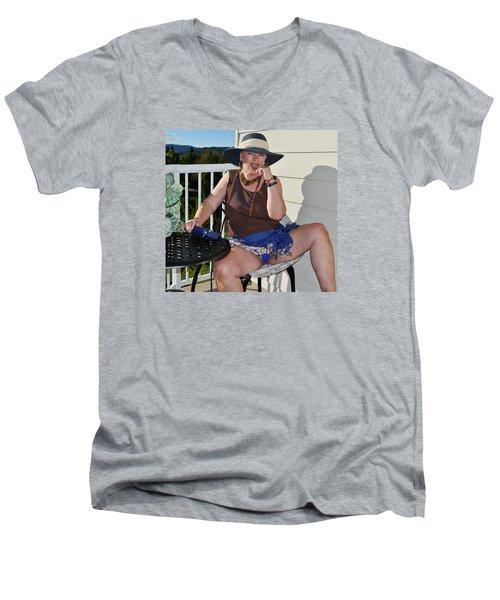 So Much Honey Men's V-Neck T-Shirt