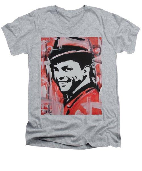 So Sinatra Men's V-Neck T-Shirt