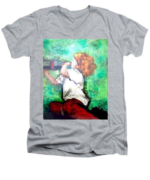 Soda Pop Child Men's V-Neck T-Shirt