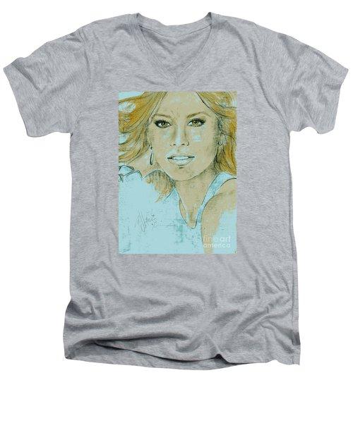 Sofia Vergara Men's V-Neck T-Shirt
