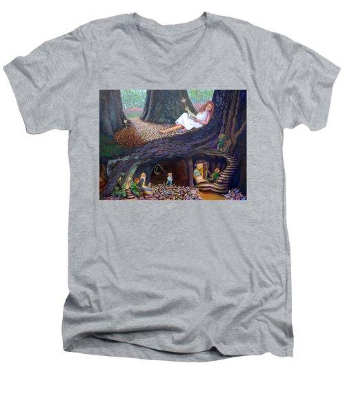 Sofie's Dream  Men's V-Neck T-Shirt